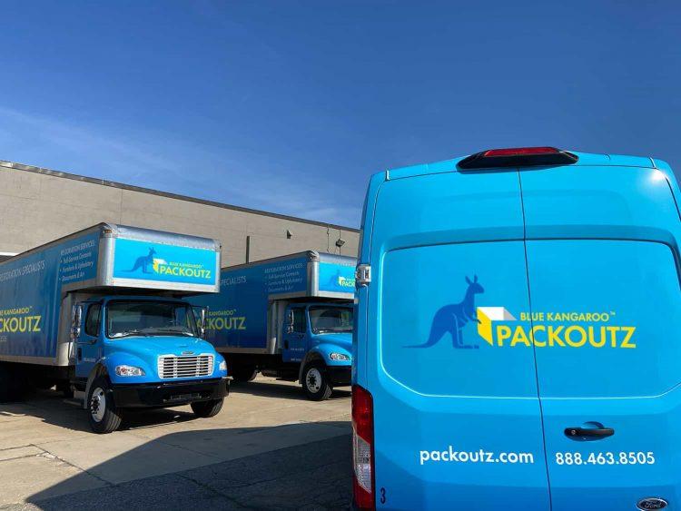 blue kangaroo packoutz vehicles