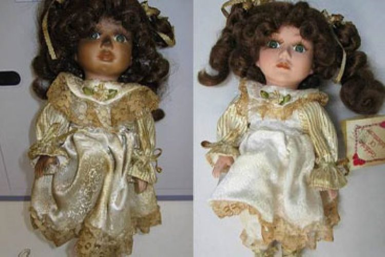 before and after doll